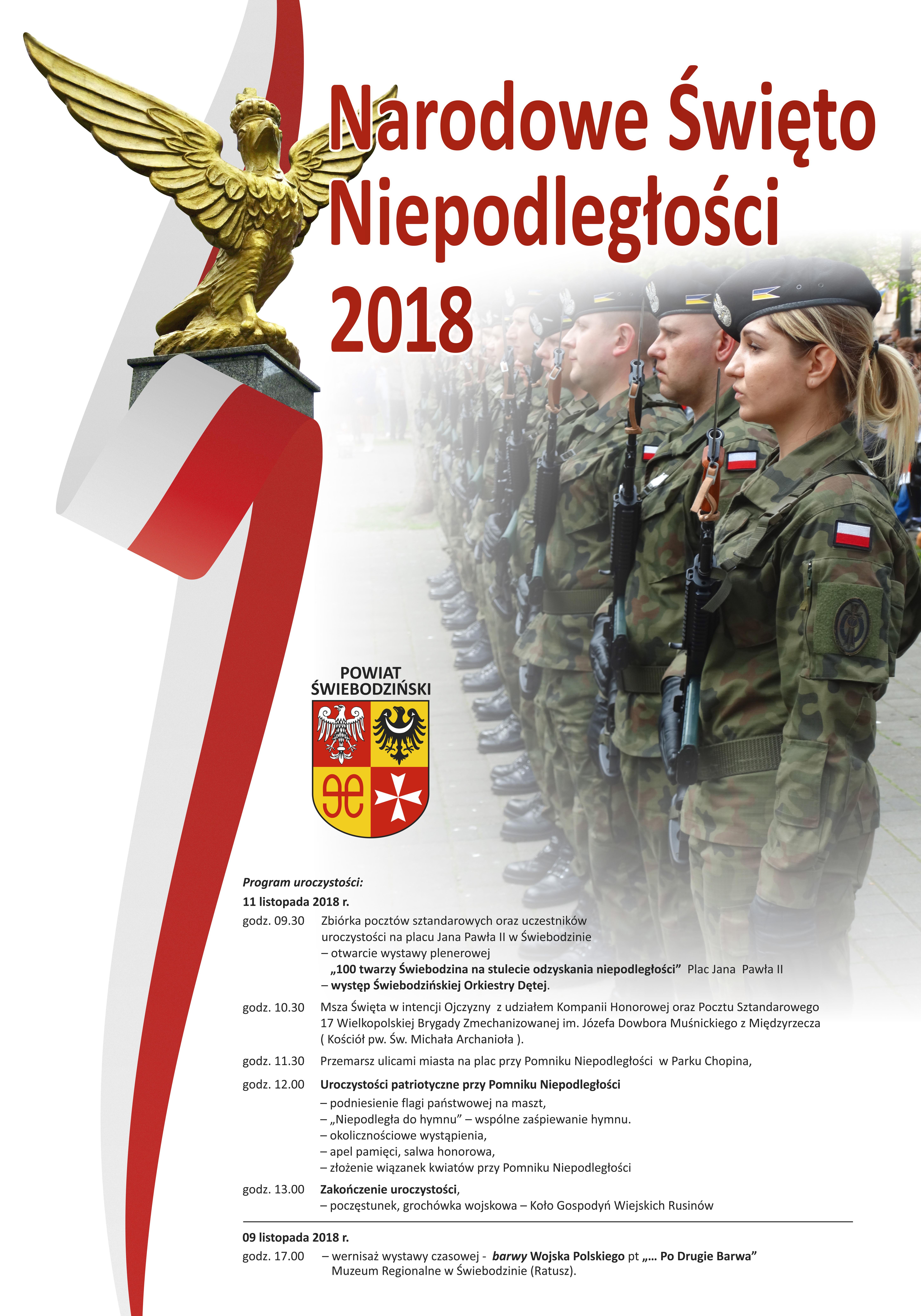Ilustracja do informacji: Obchody Narodowego Święta Niepodległości