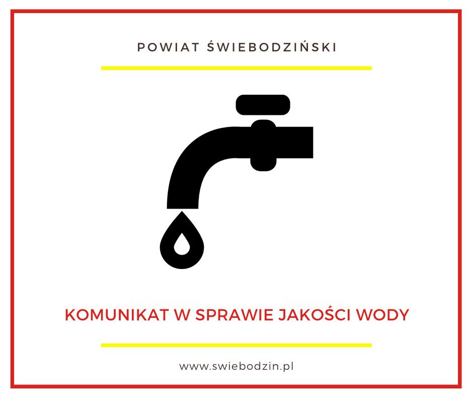 Ilustracja do informacji: Komunikat i ocena wody